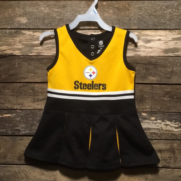 new product 6d8c5 44e15 ⭐️Pittsburgh Steelers Football Cheerleader Dress
